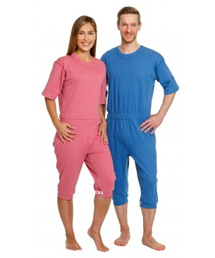 Pijama Manga Corta Pantalón Corto Ayudas Dinámicas