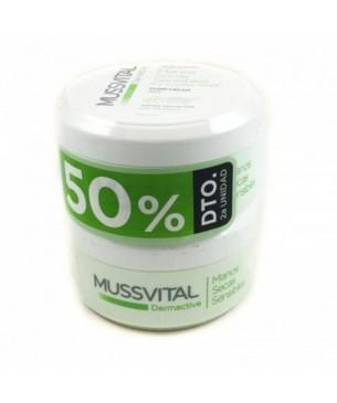 Mussvital Crema de manos Secas y Sensibles 2ª unida 50 % 200ml
