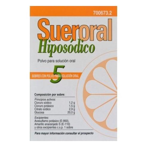 Suero Oral Hiposodico 5 sobres