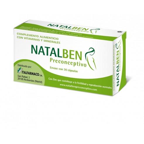 Natalben Preconcencion 30 capsulas