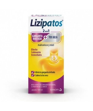 Lizipatos 2 en 1 Garganta + Tos