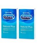 Durex Preservativos Natural Plus Duplo 2 x 12uds