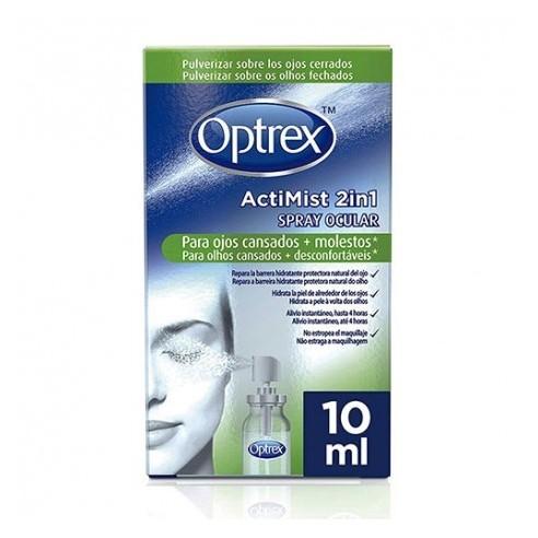Optrex Spray Ocular Ojos Cansados y Molestos 10ml