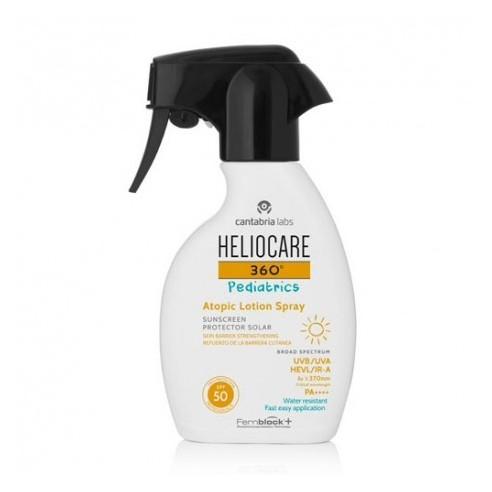 Heliocare 360º Pediatrics Atopic Lotion SPF50+ 250 ml