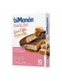 BiManán BeSlim Barritas Toffee Caramelo 10uds + 2 GRATIS