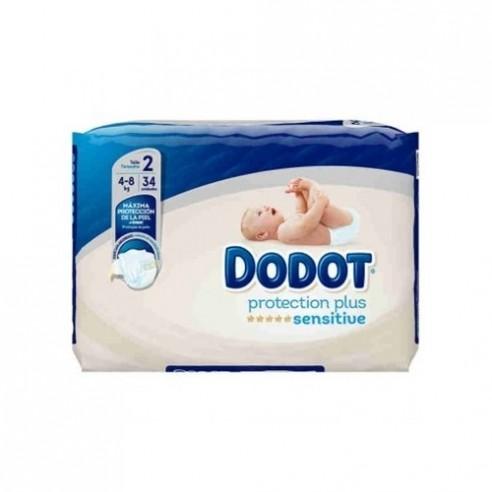 Dodot Pro Sensi T/2 4-8 KG Pañales
