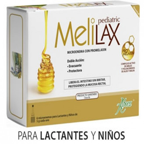 Aboca Melilax Pediatric 5 G 6 Microenemas
