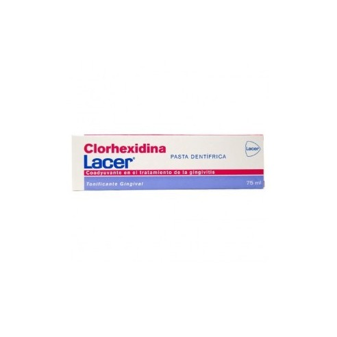 Clorhexidina lacer pasta dentrifica 75 ml