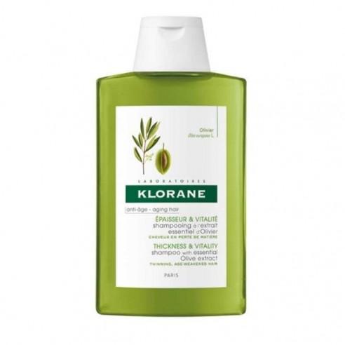 Klorane Champú Esencia de Olivo 200 ml